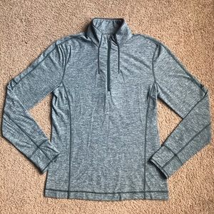 lululemon athletica Sweaters - Lululemon Sweat Session 1/2 Zip Sz Small